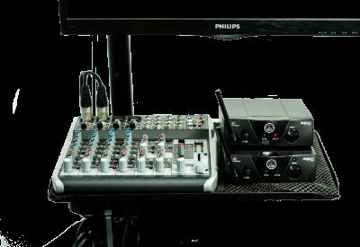 Audio voor webinar studio